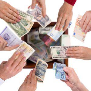 Geld uit inzamelingsacties verrekenen?