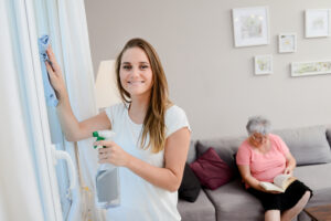 Huishoudelijke hulp na letsel