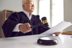 arbeidsongeval oordeel rechter